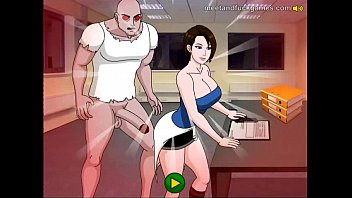 Рыжая девушка в нейлоновых чулках дрочит халалю и слизывает вкусную сперму
